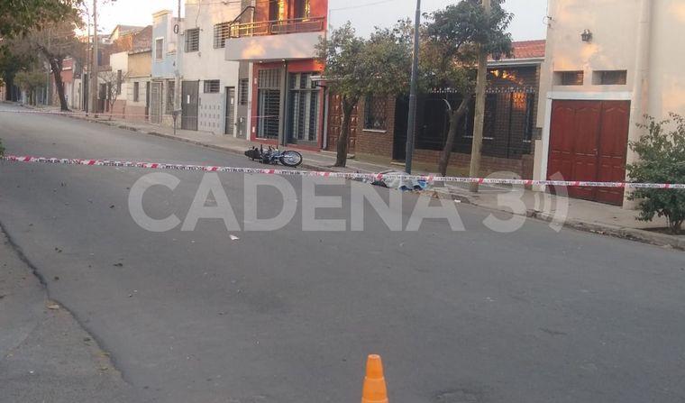AUDIO: Accidente fatal en barrio San Vicente de Córdoba