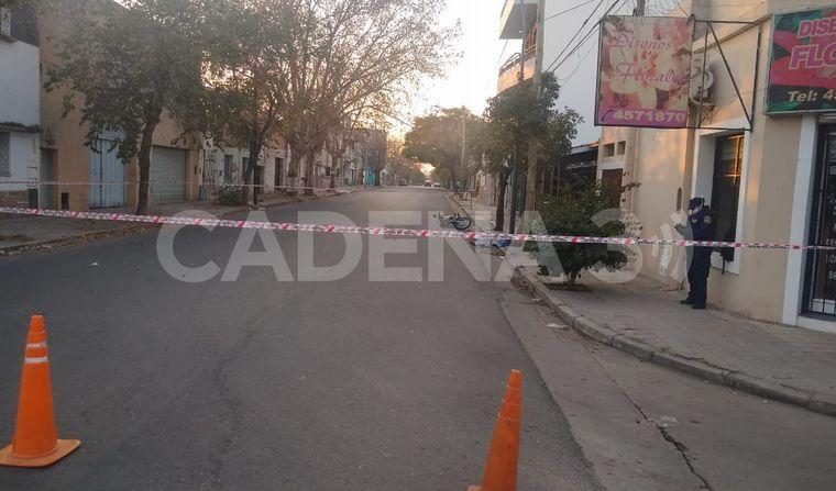 FOTO: Accidente fatal en barrio San Vicente.