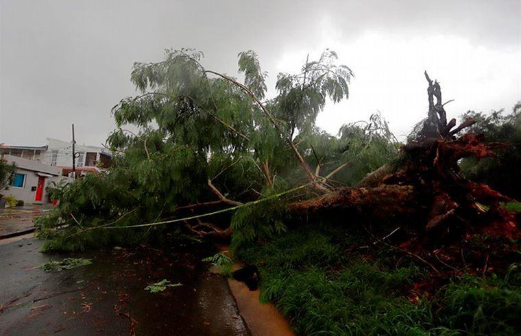 FOTO: El paso del huracán