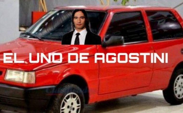 FOTO: Llegaron los memes de agosto con Daniel Agostini.