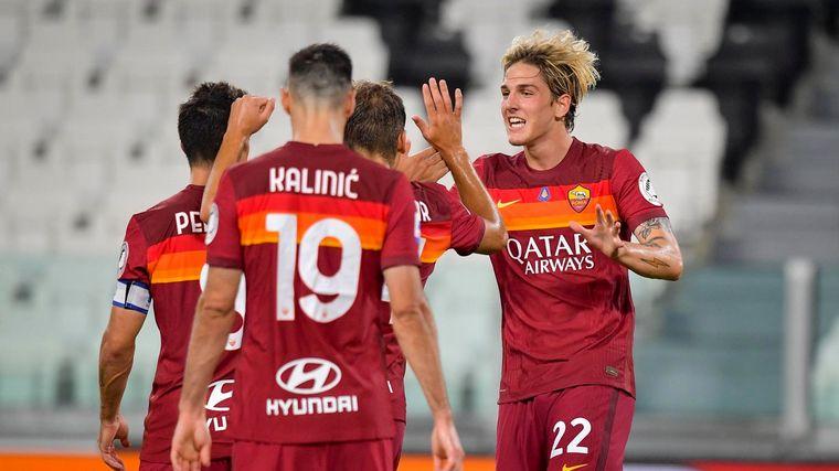 Roma Se Impuso Por 3 1 Al Ya Campeon Juventus Futbol Cadena 3 Argentina