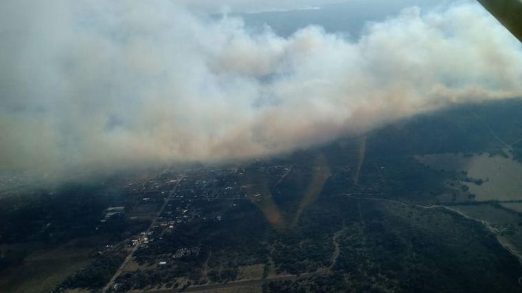FOTO: Incendio en José de la Quintana.
