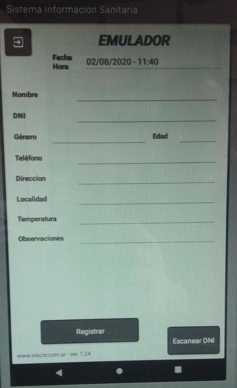 FOTO: Cordobés desarrolló una app para registrar y asegurar datos.