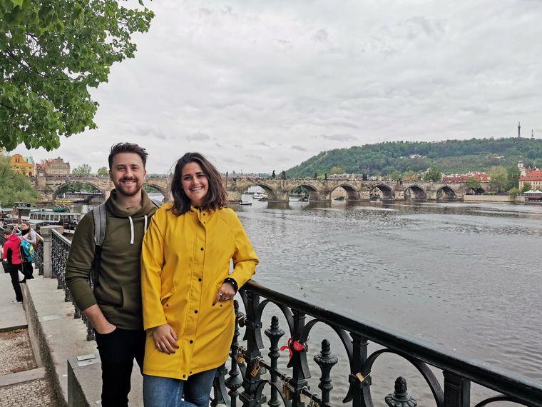 FOTO: Francisco Ferri y Claire, una historia de amor que pasó por México y llegó a Holanda.