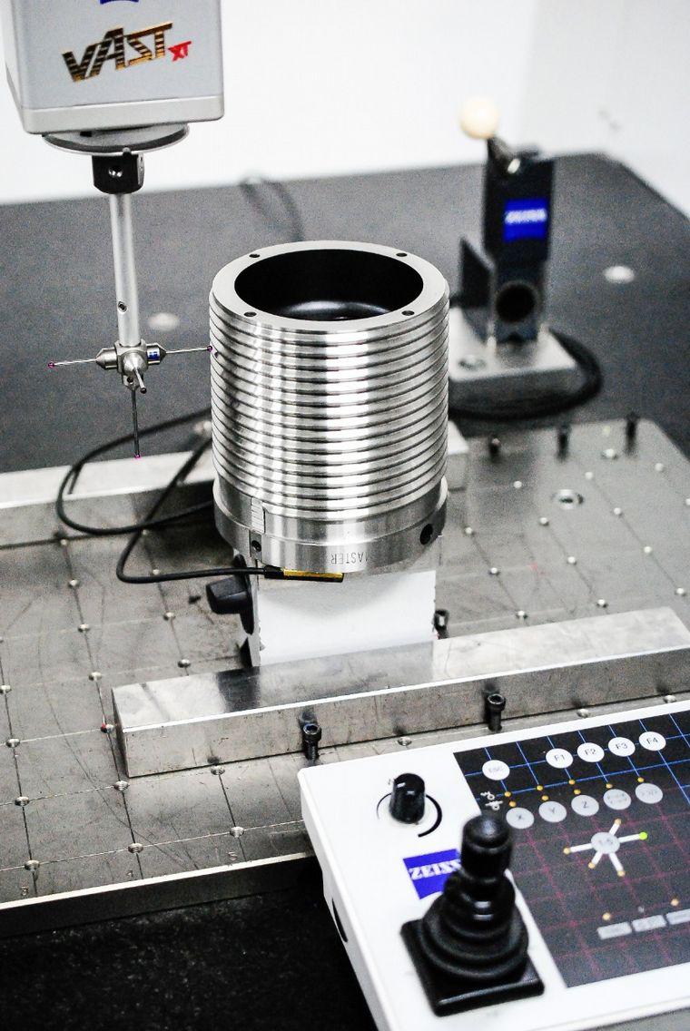 FOTO: Metalúrgica Gerbaudo exportará desde Córdoba calibres para la industria del petróleo.