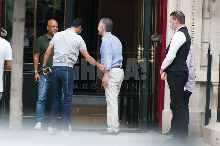 FOTO: Macri y su familia disfrutan de su estadía en París (Foto: ¡Hola! Argentina)
