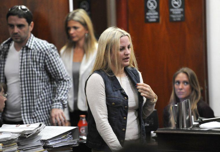 FOTO: Durante su embarazo, Píparo fue asaltada y baleada en una salidera bancaria.