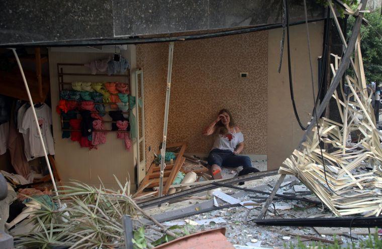 FOTO: El día después en Beirut