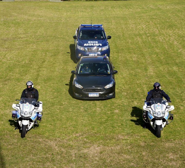 FOTO: Crean una división especial de la Policía Federal para actuar en el conurbano