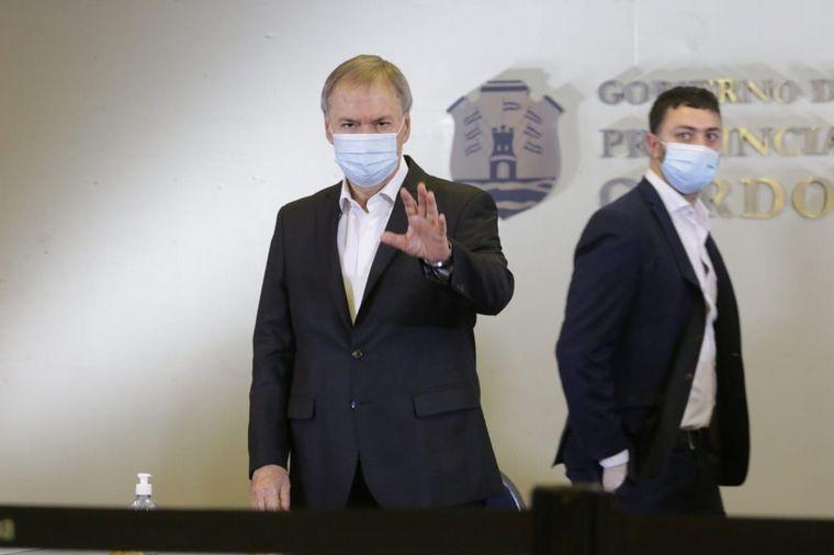 FOTO: En el acto, Schiaretti anunció la incorporación de 97 respiradores.