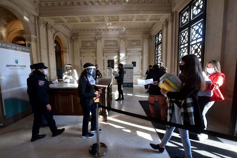 FOTO: Este viernes habrá una desinfección en el Palacio de Justicia I.