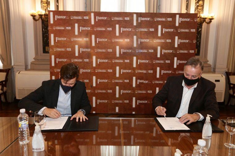 FOTO: Bancor y el Ministerio Público Fiscal firmaron convenio para combatir el Ciberdelito