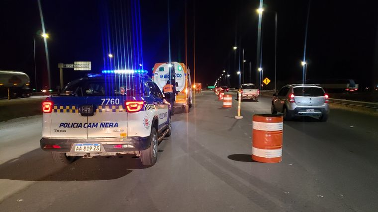 AUDIO: Espectacular accidente en Circunvalación de Córdoba