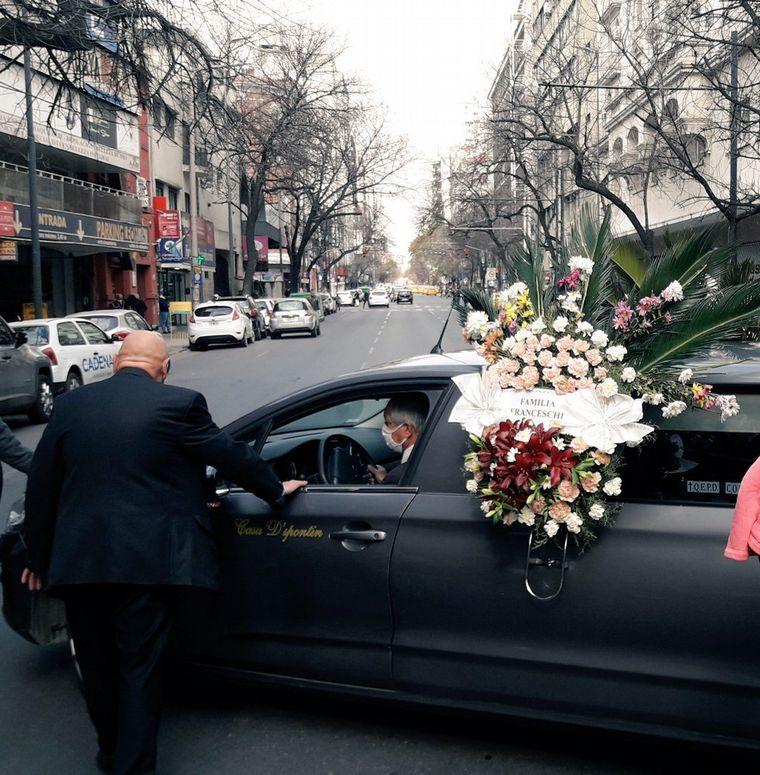 FOTO: Despiden los restos de Blas Correas en General Paz al 300.