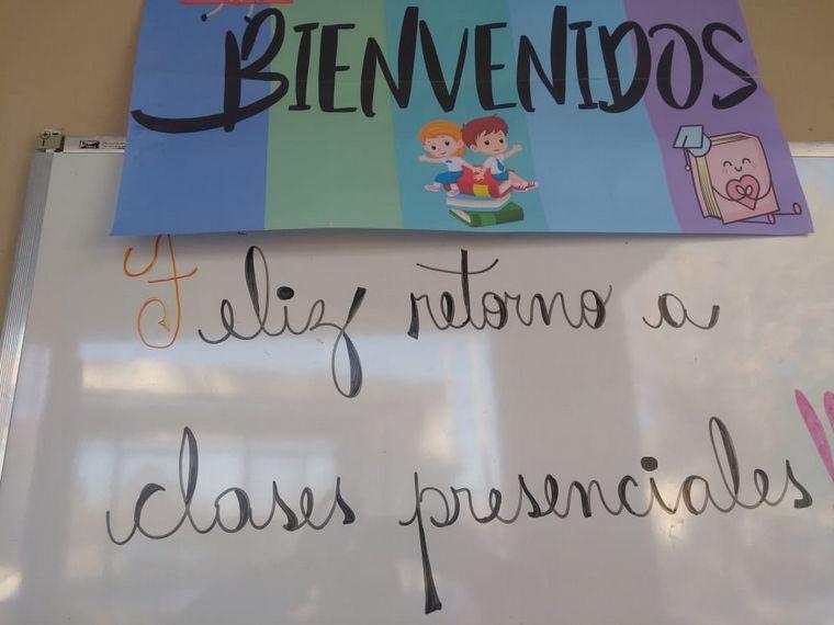 AUDIO: Cómo será el regreso a las aulas en Albardón, San Juan.