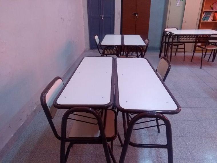 FOTO: Escuela Regimiento de Patricios en Albardón, San Juan.