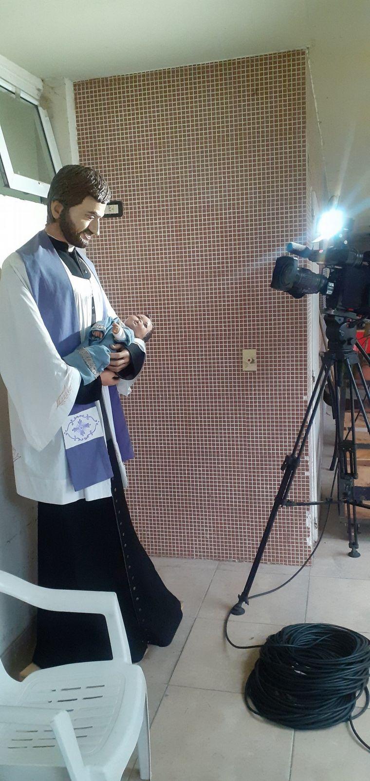 FOTO: Misa virtual por San Cayetano.