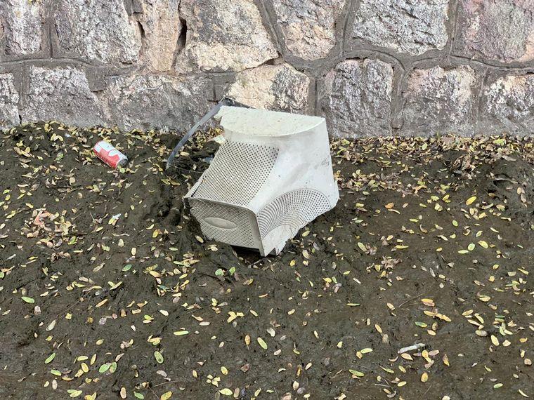 AUDIO: Limpieza de La Cañada: dejarán un contenedor para depositar residuos