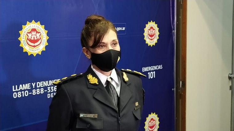 FOTO: Liliana Rita Zárate Belletti, la nueva jefa de Policía de Córdoba