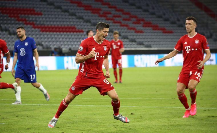 FOTO: Bayern Munich ganó por 4-1 al Chelsea y está en cuartos.