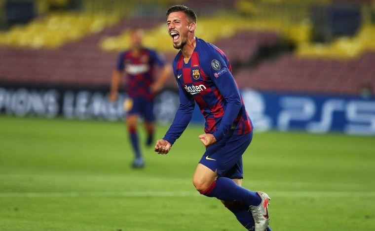 FOTO: Barcelona le ganó al Nápoli por 3-1.