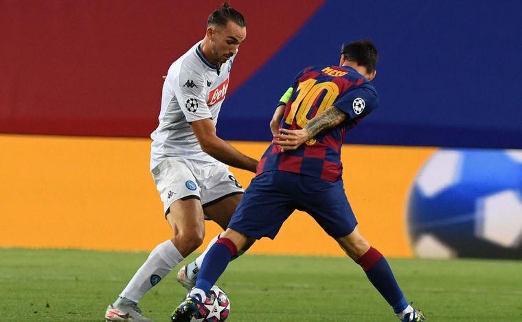 AUDIO: Con un golazo de Messi, Barcelona pasó a cuartos de final