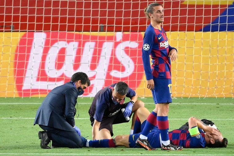 FOTO: El gol anulado a Messi causó polémica.