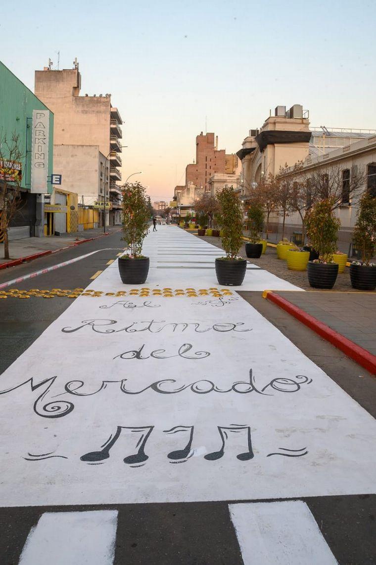 FOTO: Revalorizaron espacios del Mercado Norte de Córdoba.