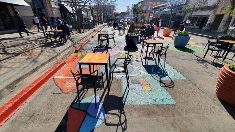 FOTO: Así luce los alrededores del Mercado Norte de Córdoba capital.