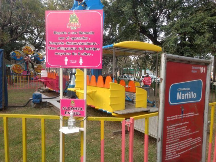 FOTO: Reabrió el Parque de Diversiones Costanera en Santa Fe, el primero en la provincia