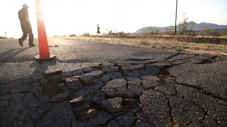 FOTO: Terremoto en California.