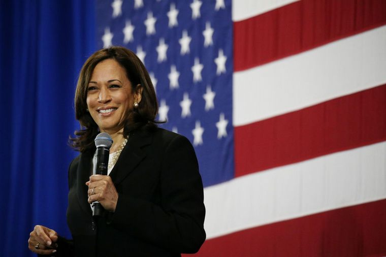 FOTO: Kamala Harris, compañera de fórmula de Joe Biden.