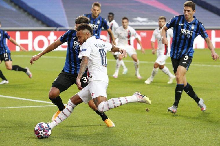 FOTO: PSG se lo dio vuelta a Atalanta y avanzó a semifinales.