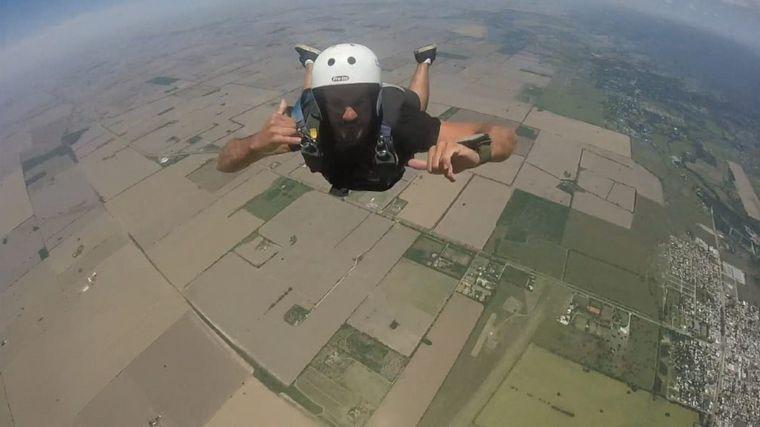 FOTO: Juan Balbas, instructor para saltos con pasajeros