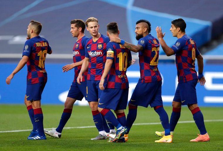 FOTO: El Bayern Munich aplasta al Barcelona en el primer tiempo.