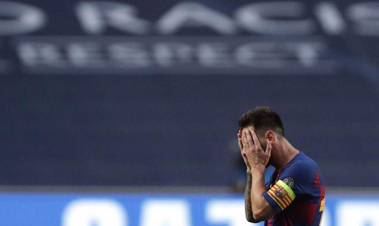 FOTO: Messi informó que quiere irse del Barcelona.