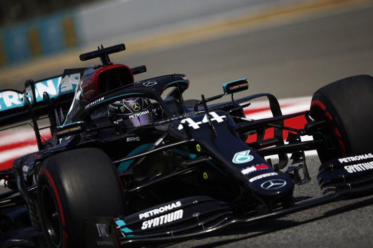 FOTO: Hamilton consiguió el mejor tiempo en la clasificación del Gran Premio de España