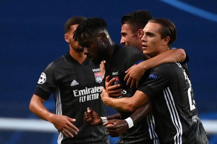 FOTO: Lyon eliminó al Manchester City y enfrentará al Bayern Múnich.
