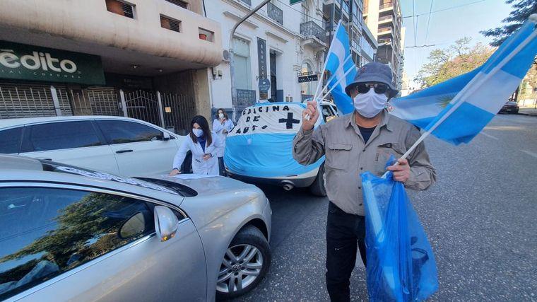 FOTO: Marcha de médicos autoconvocados en Córdoba