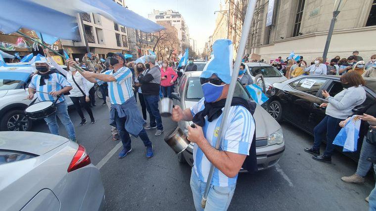 FOTO: Banderazo 17A en Córdoba