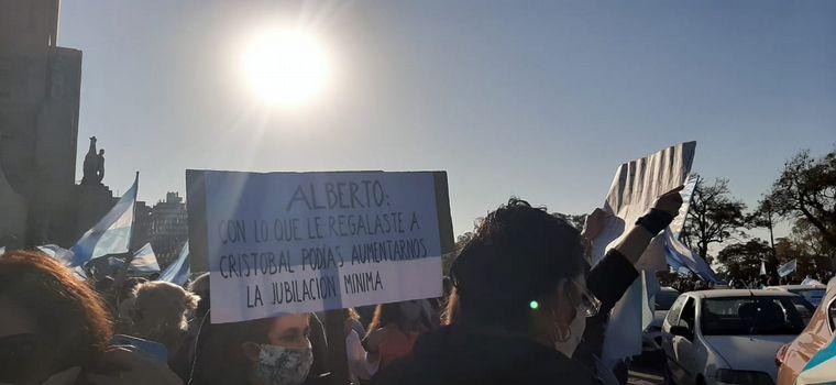 FOTO: Banderazo 17A en Rosario