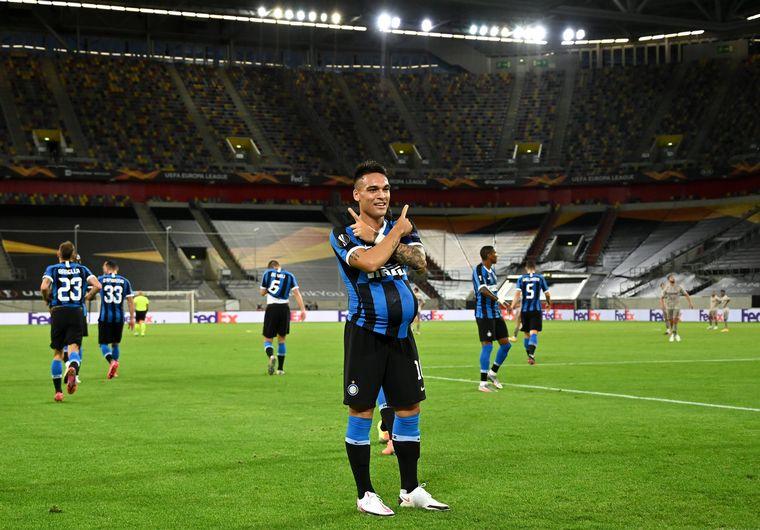 FOTO: Lukaku y Lautaro Martínez, delantera explosiva en el Inter.