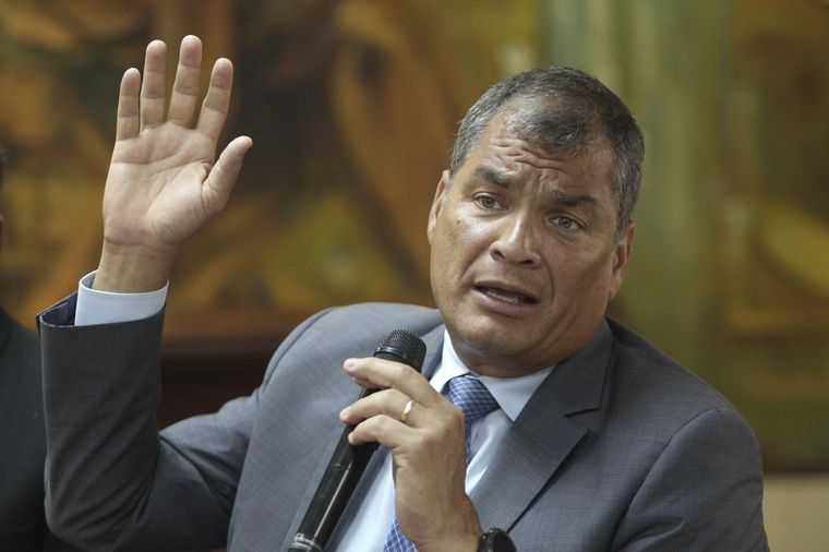 Rafael Correa inscrito como aspirante a la Vicepresidencia de Ecuador