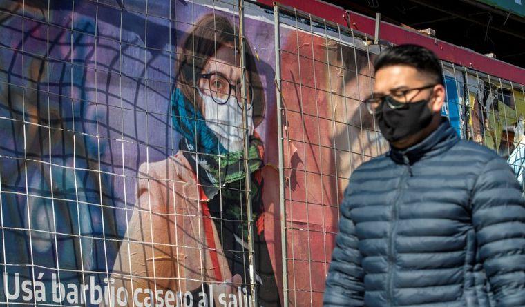 FOTO: Argentina, en el momento más complicado de la pandemia.