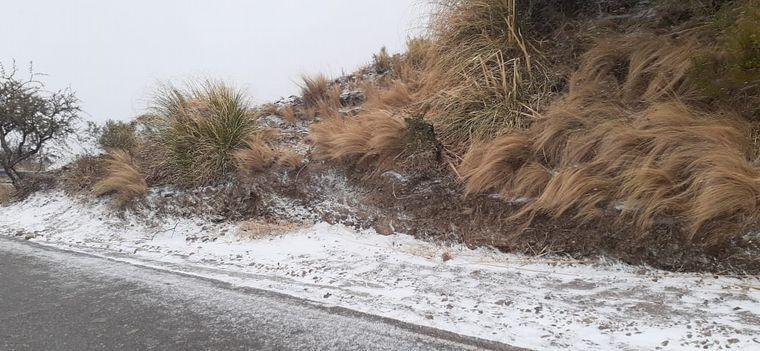 VIDEO: Nevadas en Merlo, San Luis