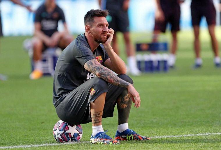 FOTO: El Camp Nou no seguiría viendo la magia de Lionel Messi.