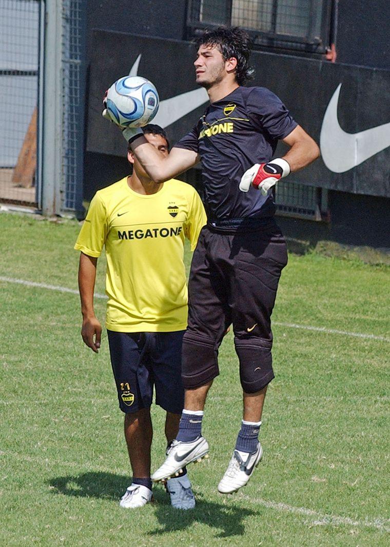 FOTO: Javier García volvió a Boca.