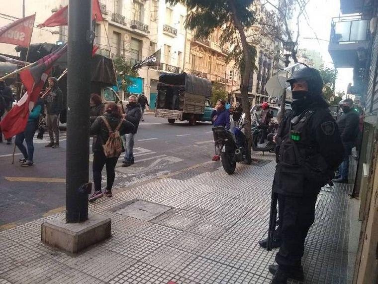 AUDIO: Un detenido en la marcha por Facundo Astudillo Castro