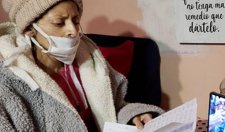 FOTO: Solange Musse padecía cáncer de mama grado 4.