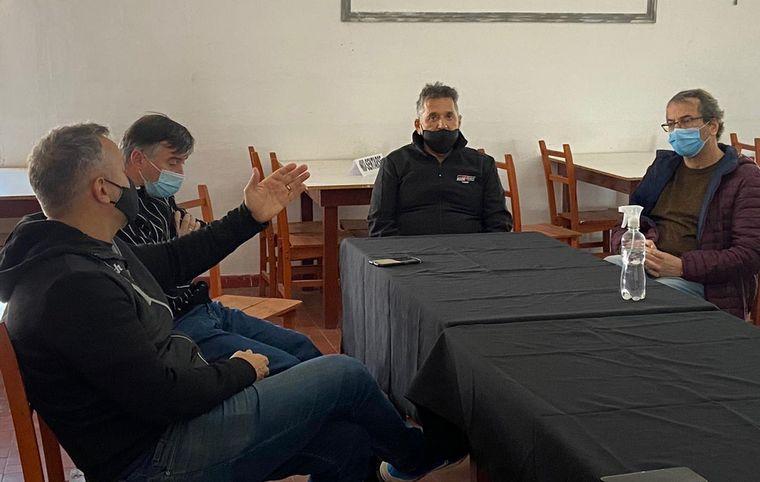 """FOTO: Integrantes del Coe, y Agencia Cba Deportes en el """"Cabalén"""""""